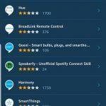 Skilss en Alexa app