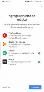 Reproducir musica en google home