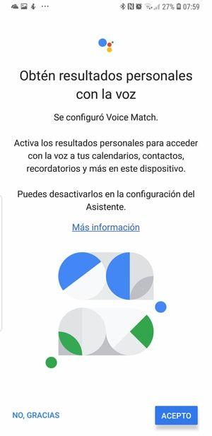 enseñale a google home a reconocer tu voz