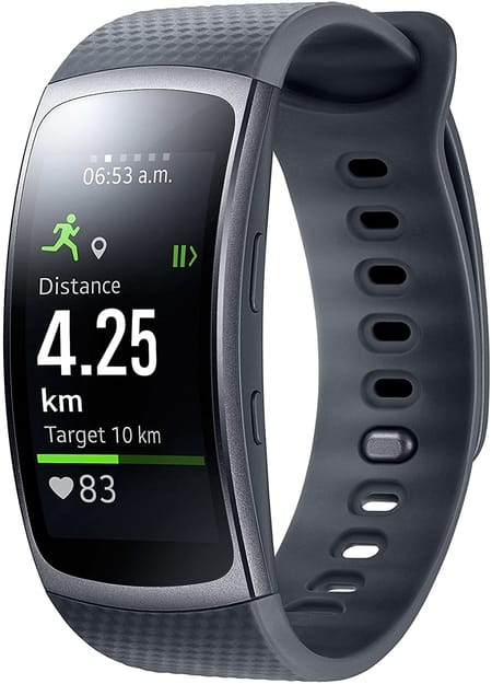Samsung Gear Fit 2 Gris Oscuro barato
