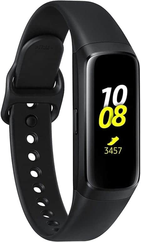 Pulsera inteligente Samsung Galaxy Fit 2 color negro/plata barata