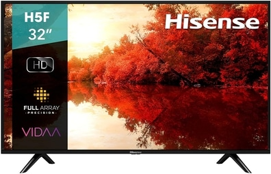comprar pantalla hisense 32h5f1 smart tv led 32 pulgadas